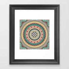 Hippie Mandala 13 Framed Art Print