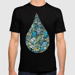 If heaven were a drop of rain T-shirt