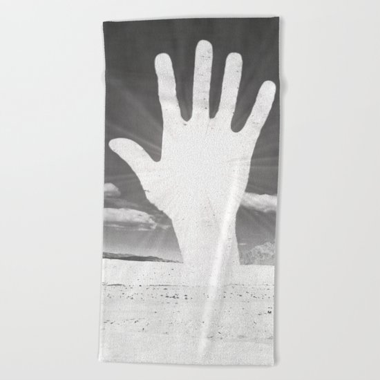 Touched Beach Towel