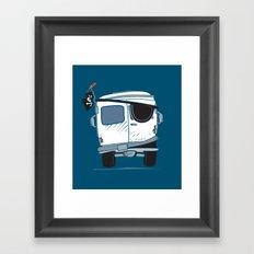 The Booty Wagon Framed Art Print