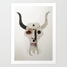 MY DEMONS ARE A PRINT #1 Art Print