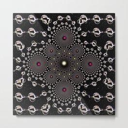 BLACK DIAMONDII Metal Print