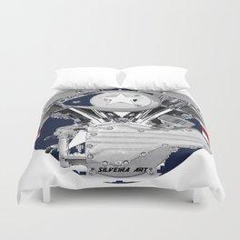 Shovel Air Duvet Cover