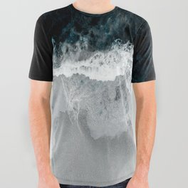 Blue Sea All Over Graphic Tee
