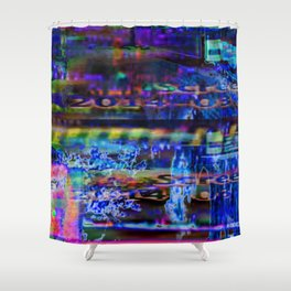 I Was Just Thinking Shower Curtain