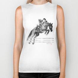 Horse (Jumper) Biker Tank
