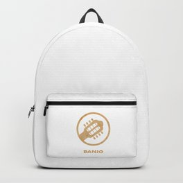 Awesome Banjo's Tshirt Design Billy Goat Banjo Backpack