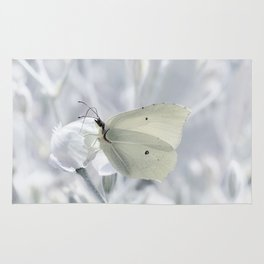 Butterfly White 80 Rug