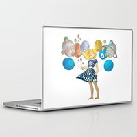 solar system Laptop & iPad Skins featuring Solar System by Owlsoul