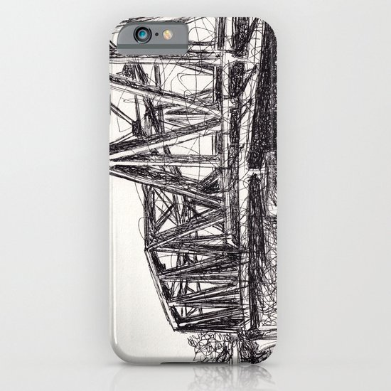 Railroad Bridge iPhone & iPod Case
