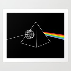 The Dark Side Of The Photo Art Print