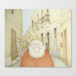 Da Mhux mir-Raħal (We don't like strangers around here...) Canvas Print