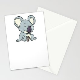 Funny Koala Bear Gift T-Shirt Koalas Bears Tee Shirt Stationery Cards
