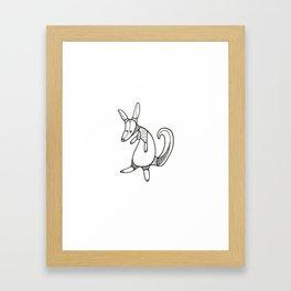Kanga Framed Art Print