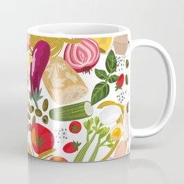 Fresh Italian Market Food Coffee Mug