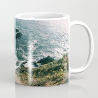 big sur Mugs featuring Kirk Creek, Big Sur by GBret