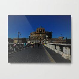 Castel Sant'Angelo, Rome, Italy Metal Print