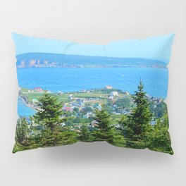 Bonaventure Island panoramic Pillow Sham
