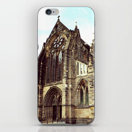 glasgow cathedral medieval cathedral iPhone Skin