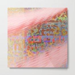 pink trails 2 Metal Print