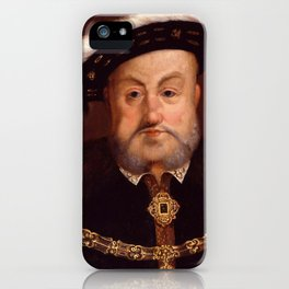 "Hans Holbein the Younger ""King Henry VIII"" iPhone Case"
