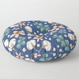 Cotton Flowers Floor Pillow