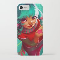 bubblegum iPhone & iPod Cases featuring Bubblegum by loish