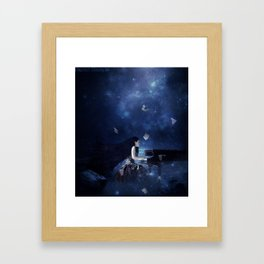 Melody Of The Tempest Framed Art Print