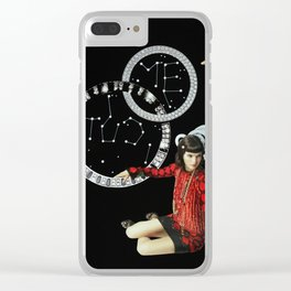 Thought Bubbles Clear iPhone Case