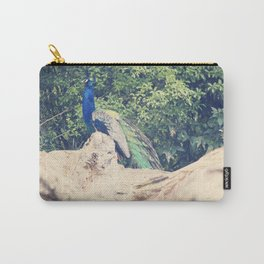 The Prideful Peacock Carry-All Pouch