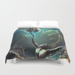 Underwater ballet Duvet Cover