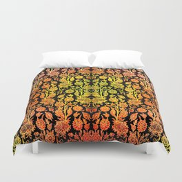 Floral Fabric Vintage Gift Pattern #1 Duvet Cover