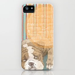 Yikes, Bulldog iPhone Case