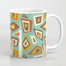 African Abstract Geometric Retro Coffee Mug