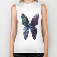 coconut wishes Biker Tanks featuring Coconut Tree by Sarah Maurer