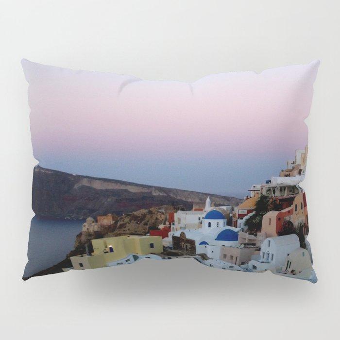 Dawn of Santorini Greece Pillow Sham