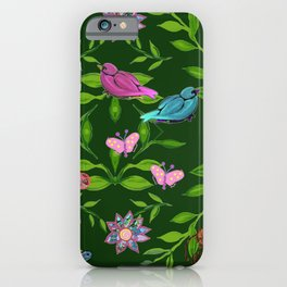 zakiaz magical forest iPhone Case