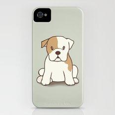 English Bulldog Illustration iPhone (4, 4s) Slim Case