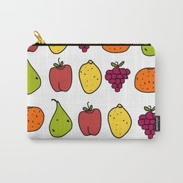 Fruits in a Line Carry-All Pouch