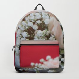 Wedding flower Backpack
