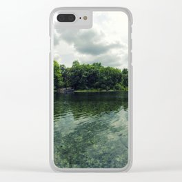 Alexander Springs Wide Angle Clear iPhone Case