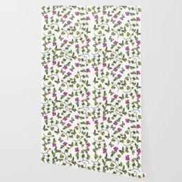 Botanical Pattern Wallpaper