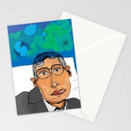 The Genius: Stephen Hawking Stationery Cards
