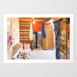 Marrakech Medina - Morocco Art Print