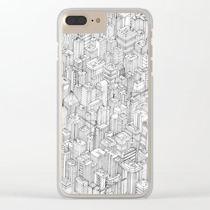 Isometric Urbanism pt.1 Clear iPhone Case