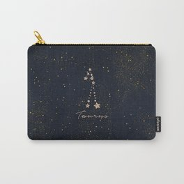 Taurus - Rose Gold Carry-All Pouch