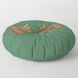 Pete, the Dragon Floor Pillow