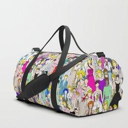 Tokyo Punks - Feminist Multicultural Unite Duffle Bag