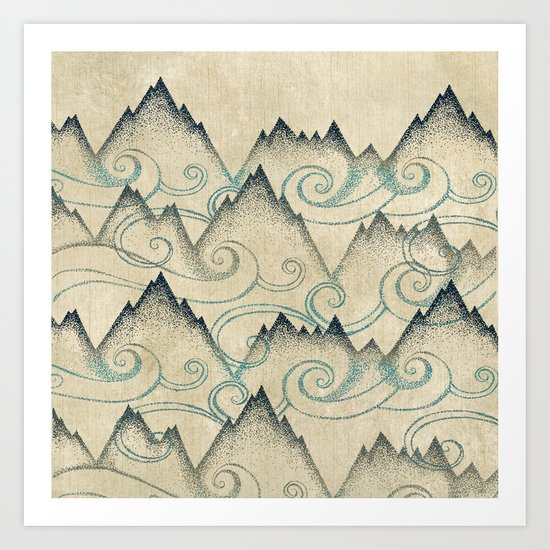 Mountain Breeze  Art Print
