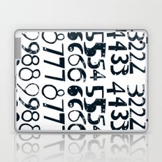Numbers b/v Laptop & iPad Skin